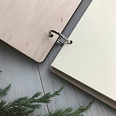 Деревянный альбом для любого повода с индивидуальной гравировкой, фото 2