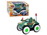 Детская игрушка Танк-перевертыш 6106 KINSMART на батарейках