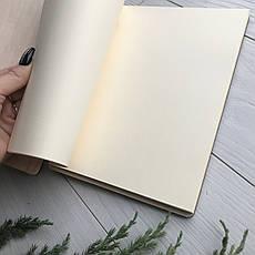 Книга в дизайнерской деревянной обложке с гравировкой на заказ, фото 2