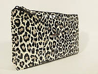 Клатч кожаный женский леопард clutch Desisan 070