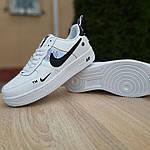 Женские кроссовки Nike Air Force 1 LV8 (бело-черные) 20036, фото 4