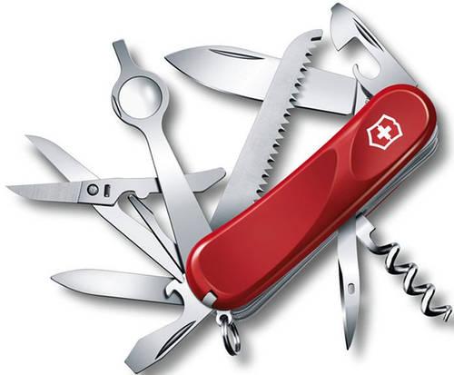 Офицерский функциональный складной нож Victorinox Evolution 23, 25013.E красный
