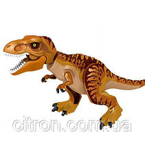 Динозавр Тирекс большой  Длина 29 см. Конструктор Леле