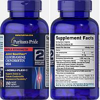 Puritan's Pride, Глюкозамин, Хондроитин и MCM, 180 таблеток