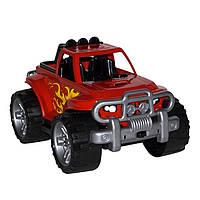Игрушка Внедорожник спорт (красный), пластиковая машинка | Технок