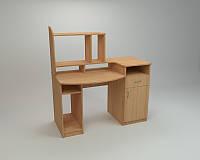 Компьютерный прямой стол Компанит СК Комфорт-2