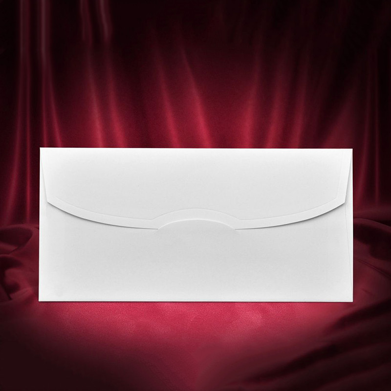 Белый матовый конверт (арт. Z-001)