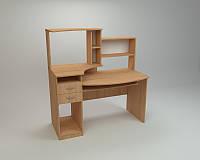 Компьютерный прямой стол Компанит СК Комфорт-4