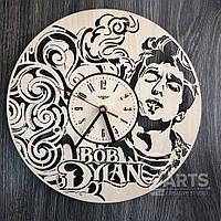 """Оригинальные настенные часы """"Боб Дилан"""""""