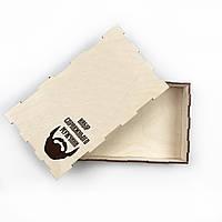 Подарочная коробка из дерева с гравировкой под заказ
