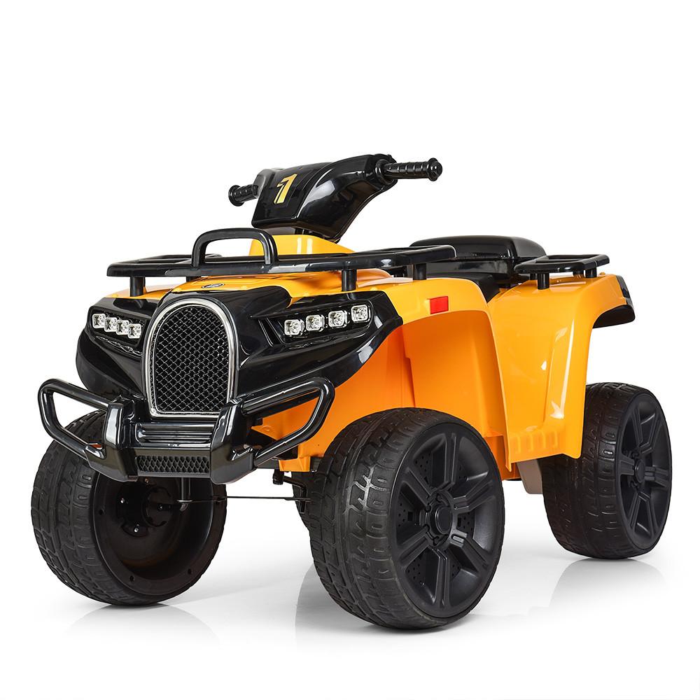 Детский электромобиль квадроцикл Bambi ZP5138E-6 желтый
