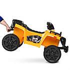 Детский электромобиль квадроцикл Bambi ZP5138E-6 желтый, фото 3
