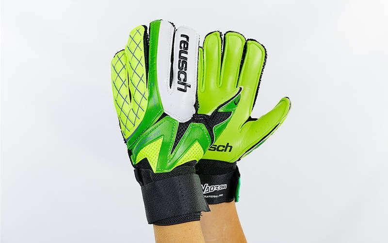 Перчатки вратарские FB-853 REUSCH (PVC, р-р 8-10, цвета в ассортименте)
