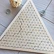 Логическая игра-головоломка из дерева «Загадочный треугольник», фото 6
