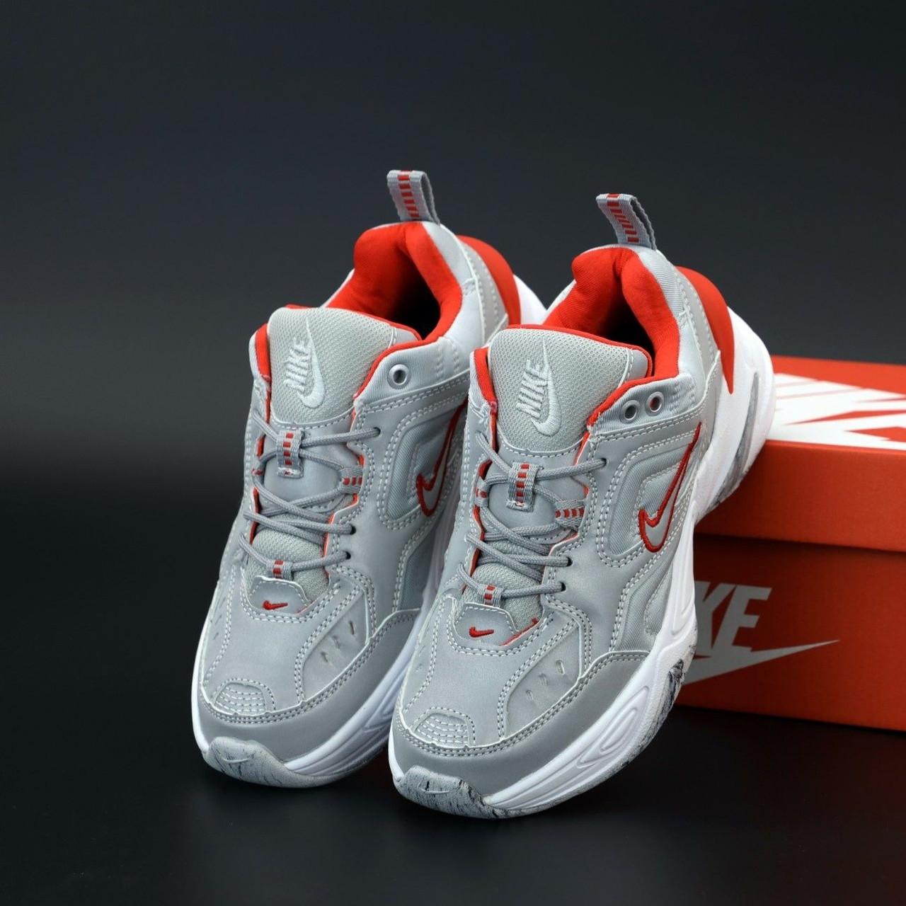 Женские кроссовки в стиле Nike M2k Tekno Reflective