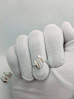 """Кольцо серебро с золотой пластиной """"Дамали"""", фото 1"""
