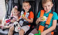Детское автокресло бескаркасное 9 - 36 кг 6 цветов 1, 2, 3 категории