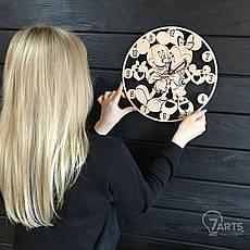 Детские настенные часы «Микки Маус», фото 3
