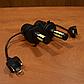 LED-лампы F7 H4 6500K 9000Lm (с активным охлаждением и влагозащитой)+ПОДАРОК!, фото 7