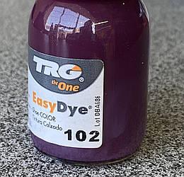 Краска для  кожи TRG №102 Dark Lilac (Темно-фиолетовый) 25 мл + апликатор
