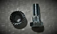 Болт с гайкой сегмента ножа режущего аппарата жатки, фото 1