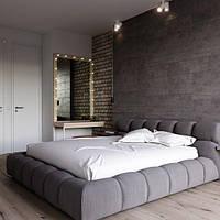 Кровать Корнилон. Мягкая кровать в современном стиле.