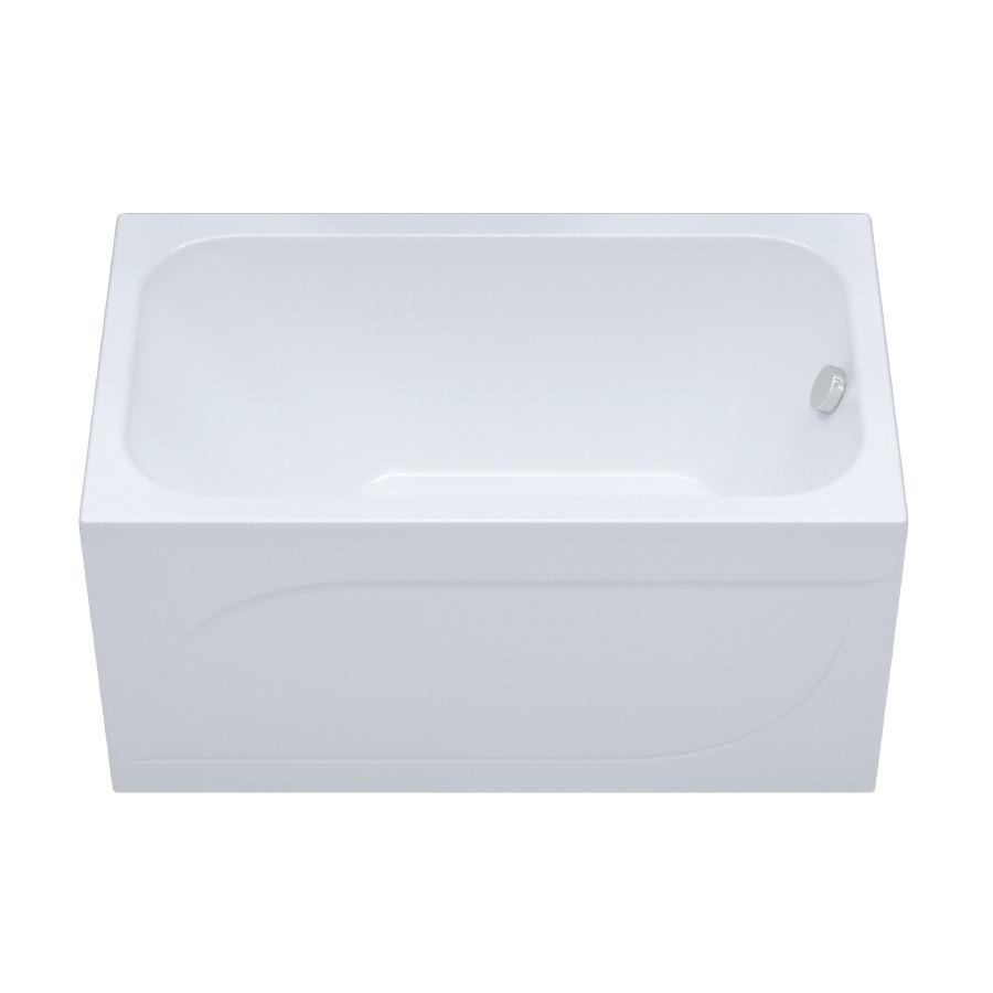 Ванна акрилова прямокутна Тритон стандарт 130 з ніжками