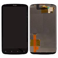 Дисплей + touchscreen (сенсор) для HTC Sensation XE Z715e G18, оригинал
