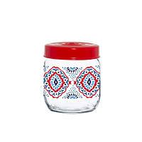 Банка стеклянная для хранения продуктов herevin Ажур 425 мл (171341-064)