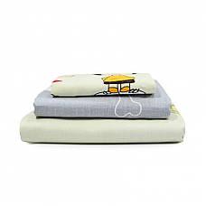 Подростковое постельное белье Viluta 406 сатин 143*205, фото 3