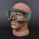 Очки тактические STR-62, оправа олива, фото 3