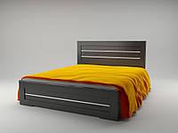 Кровать Соломия с газовыми подъемниками 140x200 венге южный