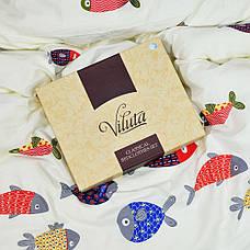Подростковое постельное белье Viluta 403 сатин 143*205, фото 3