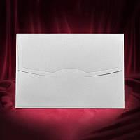 Белый перламутровый конверт (арт. Z-007)