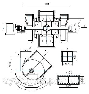 ДН-26x2 дымосос двустороннего всасывания, фото 2