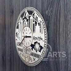 """Интерьерные часы на стену """"Алма-Ата, Казахстан"""", фото 2"""