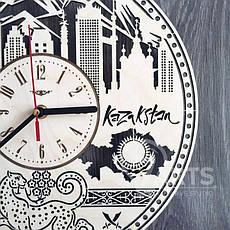 """Интерьерные часы на стену """"Алма-Ата, Казахстан"""", фото 3"""