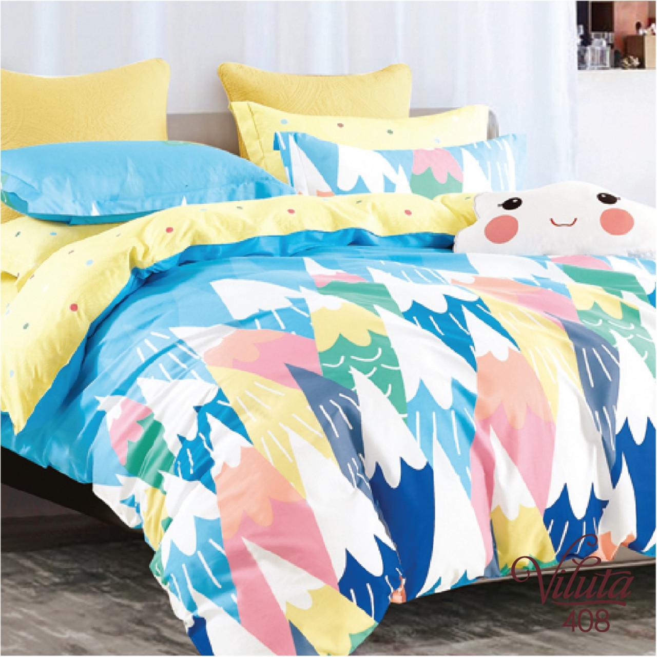 Подростковое постельное белье Viluta 408 сатин 143*205