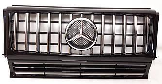 Решетка радиатора Mercedes W463 стиль W464 AMG G63