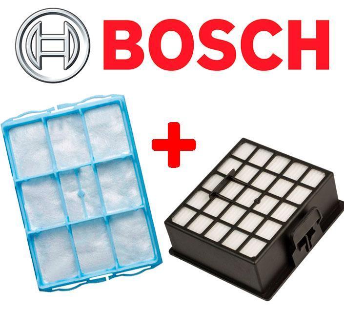 Фильтры для пылесоса Bosch Siemens BSG62185 BSGL32383 (Комплект)