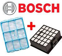Фильтры для пылесоса Bosch Siemens BSG62185 BSGL32383 (Комплект), фото 1