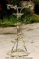 Дерево-2, подставка для цветов на 32 чаши, фото 1