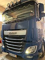 Установка гидравлики на тягач DAF