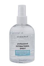 Антисептик для рук универсальный 275 МЛ 60% спирт дезинфектор ANTIBACTERIAL SPRAY JERDEN PROFF