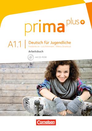 Prima plus A1/1 Arbeitsbuch mit CD-ROM