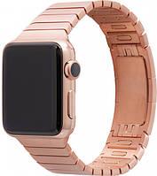 Ремешок XoKo Link Bracelet для Apple Watch 38-40mm Rose Gold