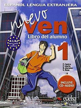 Nuevo Ven 1 Libro del alumno + CD audio