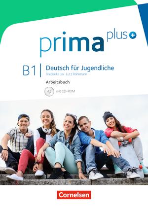 Prima plus B1 Arbeitsbuch mit CD-ROM