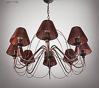 Люстра 8 ламповая для гостиной, зала, большой комнаты 18388-3