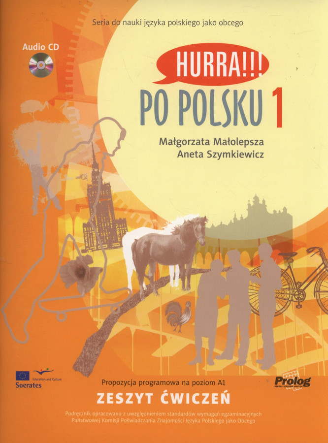 Hurra!!! Po Polsku 1 - Zeszyt cwiczen + CD